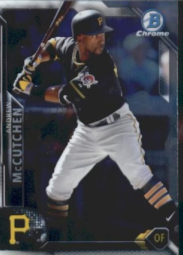 Photo of 2016 Bowman Chrome Vending '16 Bowman #68 Andrew McCutchen