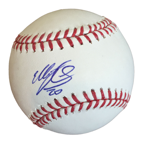 Photo of Autographed Eddie Rosario Baseball