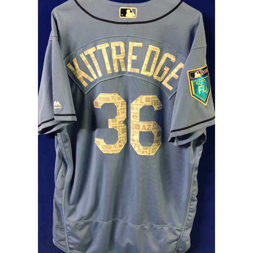 Photo of 2018 Spring Training Team-Issued Jersey: Andrew Kittredge