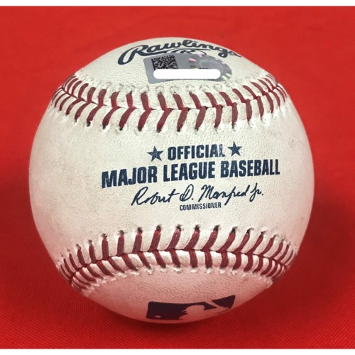 Photo of Victor Robles Player-Collected Homerun Baseball - April 28, 2019