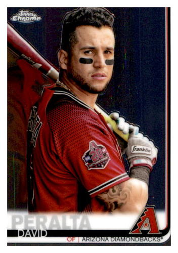 Photo of 2019 Topps Chrome #9 David Peralta
