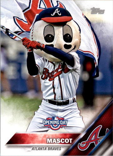 Photo of 2016 Topps Opening Day Mascots #M11 Braves Mascot