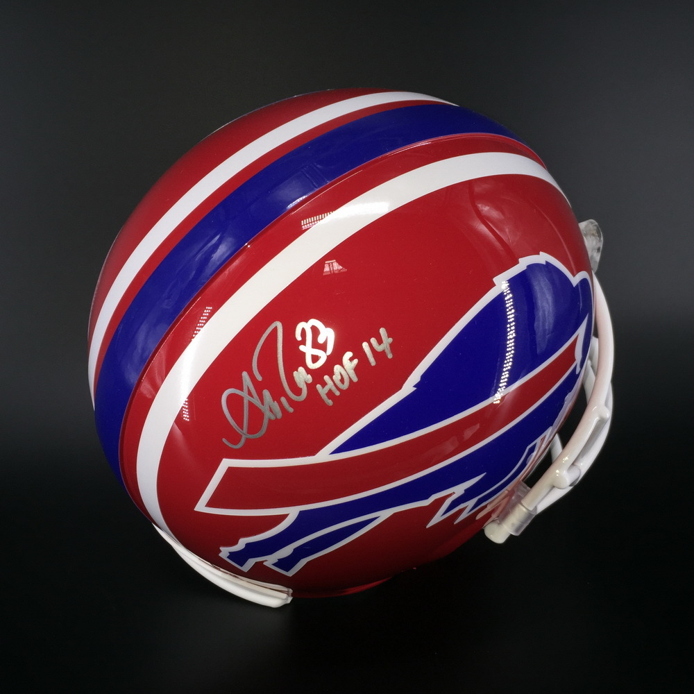 HOF - Bills Andre Reed Signed Proline Helmet