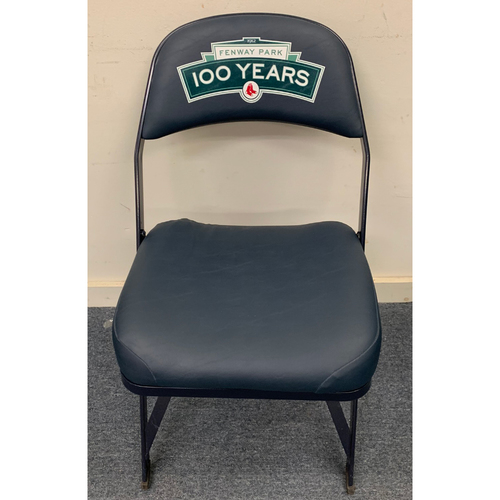 Photo of Andy Pettitte(August 18, 2013),  Jimmy Rollins (May 28, 2013), Anibal Sanchez (September 3, 2013) Game Used Visitor's Locker Room Clubhouse Chair