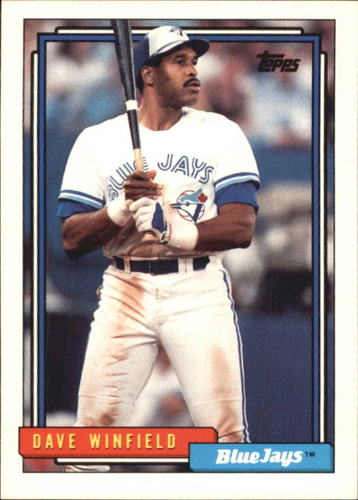Photo of 1992 Topps Traded #130T Dave Winfield