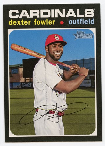 Photo of 2020 Topps Heritage #88 Dexter Fowler