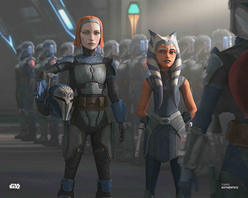 Ahsoka Tano and Bo-Katan Kryze
