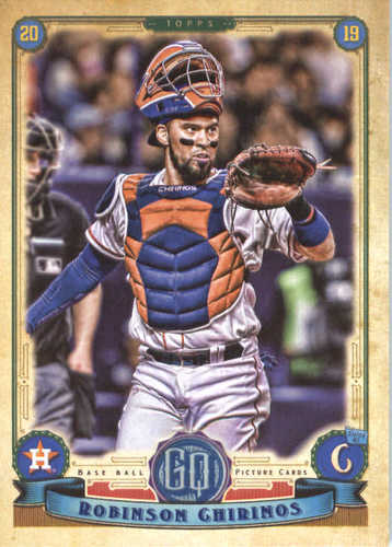 Photo of 2019 Topps Gypsy Queen #106 Robinson Chirinos