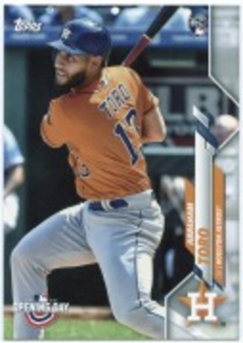 Photo of 2020 Topps Opening Day #55 Abraham Toro RC