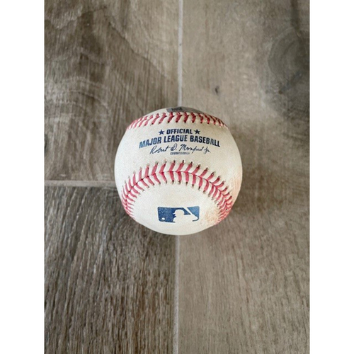 Photo of 9/9/20 Game-Used Baseball, Los Angeles Dodgers vs. Arizona Diamondbacks: Stefan Crichton vs. Mookie Betts (Fly Out to Daulton Varsho)