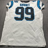 Crucial Catch - Panthers Kawann Short Game Used Jersey (10/4/20) Size 50 W/ Captains Patch