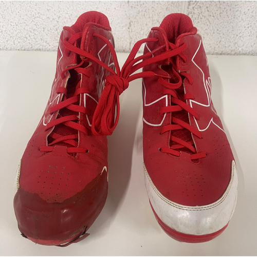 Team Issued Cleats - Left and Right Cleat - Size 11.5