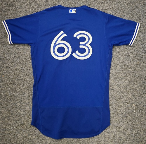 Photo of Authenticated Team Issued Spring Training Jersey: #63 Anthony Castro (2021 Season). Size 44.