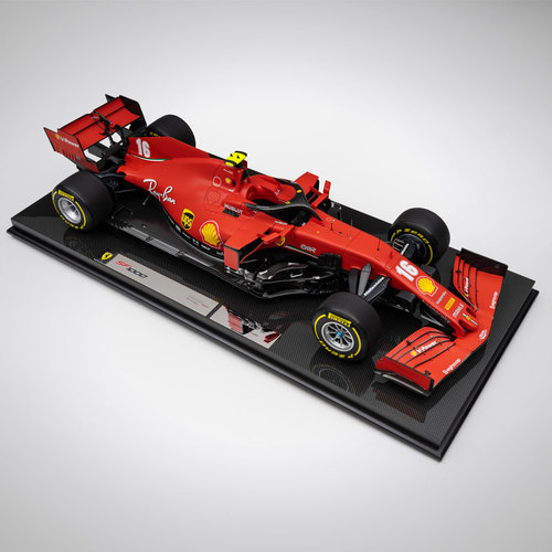 Photo of Charles Leclerc 2020 SF1000 1:8 Scale Model