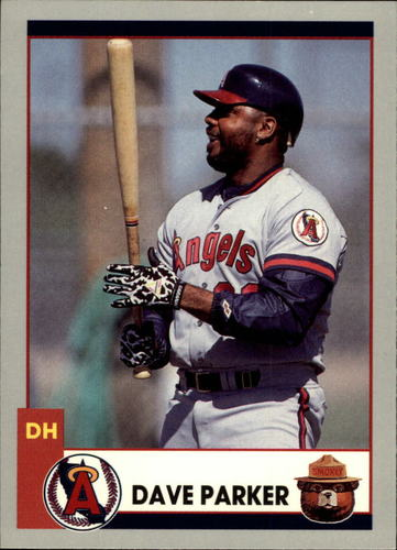 Photo of 1991 Angels Smokey #4 Dave Parker