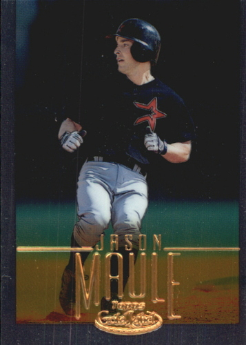 Photo of 2002 Topps Gold Label Class 1 Gold #184 Jason Maule