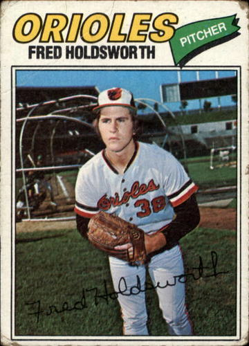 Photo of 1977 Topps #466 Fred Holdsworth