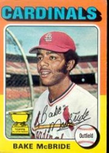 Photo of 1975 Topps #174 Bake McBride