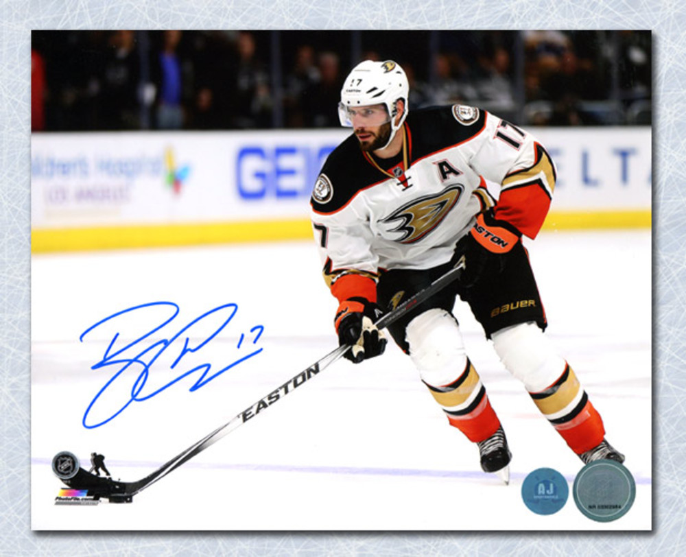 Ryan Kesler Anaheim Ducks Autographed Horizontal Playmaker 8x10 Photo