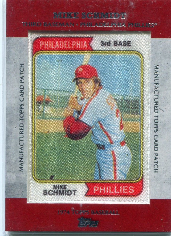 2013 Topps Manufactured Patch  Mike Schmidt