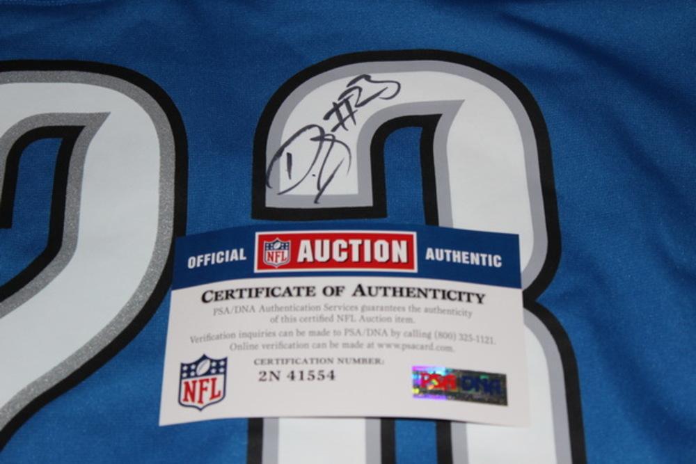 reputable site 46767 9b59d NFL Auction | LIONS - DARIUS SLAY SIGNED LIONS REPLICA ...