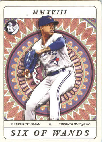 Photo of 2018 Topps Gypsy Queen Tarot of the Diamond #TOD9 Marcus Stroman