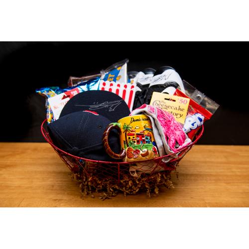 Photo of Rafael Devers Favorite Things Basket