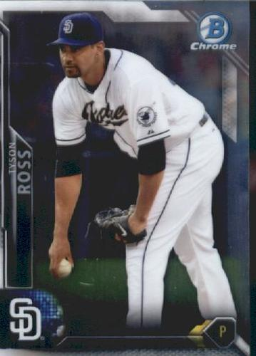 Photo of 2016 Bowman Chrome Vending '16 Bowman #73 Tyson Ross