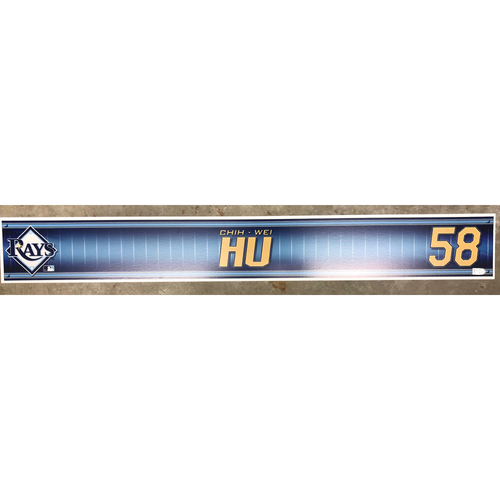 Photo of Team-Issued Locker Tag: Chih-Wei Hu