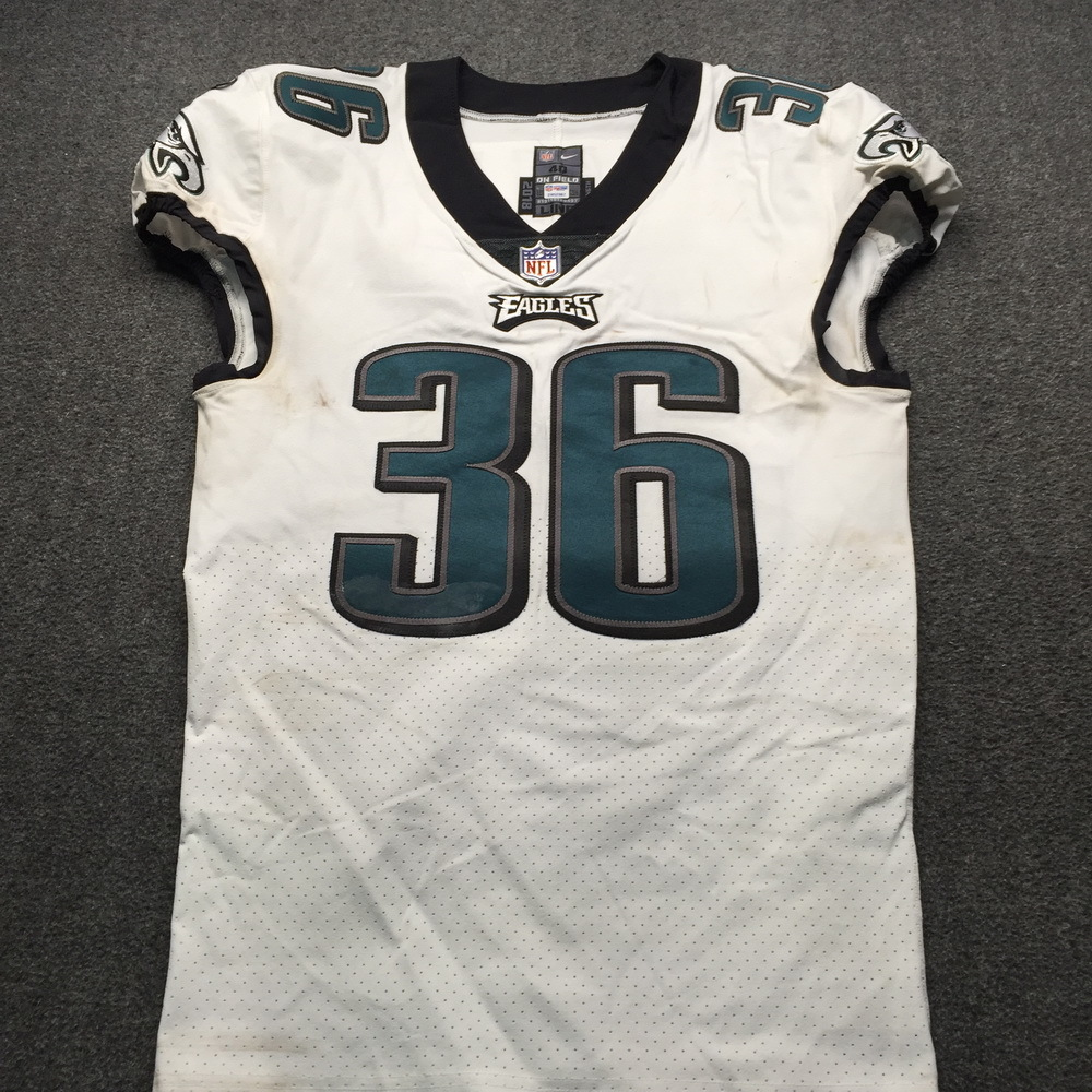 NFL - Eagles Deiondre' Hall London Games 10.28.18 Game Used Jersey Size 40
