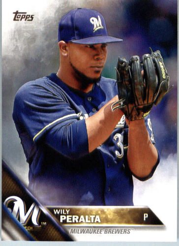 Photo of 2016 Topps #414A Wily Peralta