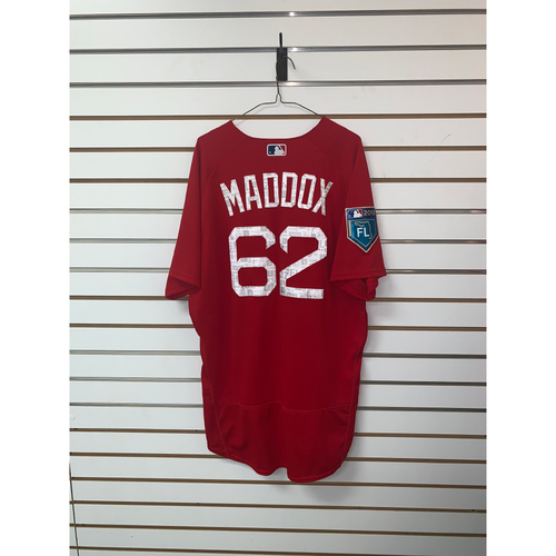 Photo of Austin Maddox Team-Issued 2018 Spring Training Jersey