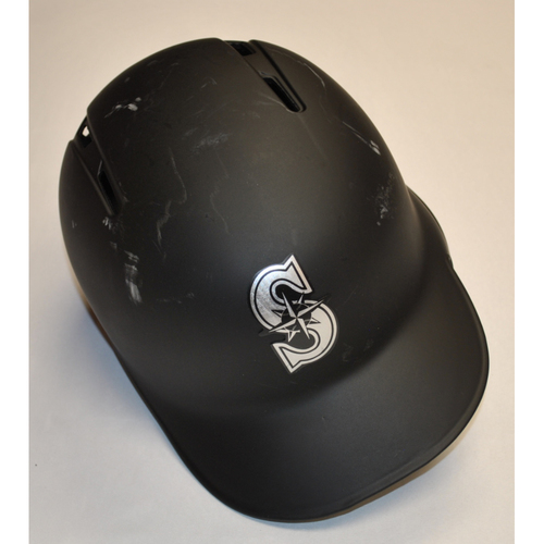 """Photo of Ryan """"COURTHOUSE"""" Court Seattle Mariners Team-Issued 2019 Players' Weekend Helmet"""