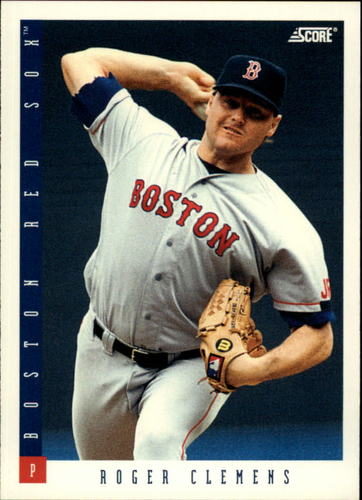 Photo of 1993 Score #7 Roger Clemens