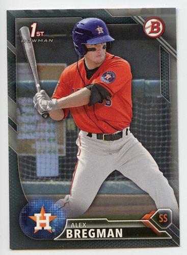 Photo of 2016 Bowman Prospects Silver #BP4 Alex Bregman