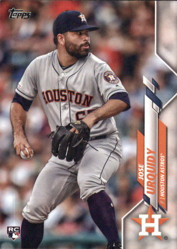 Photo of 2020 Topps #310 Jose Urquidy RC