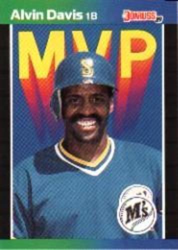 Photo of 1989 Donruss Bonus MVP's #BC25 Alvin Davis DP