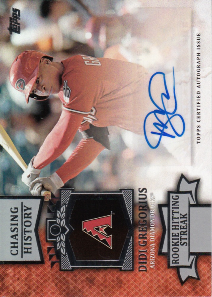 2013 Topps Chasing History Autographs #DG Didi Gregorius UPD