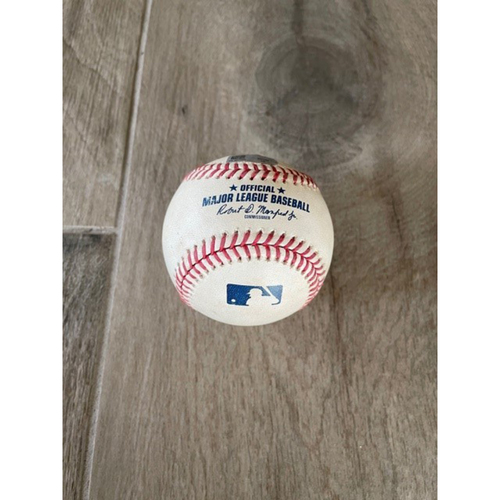 Photo of 8/29/20 Game-Used HOME RUN Baseball, San Francisco Giants vs. Arizona Diamondbacks: Christian Walker Homered Off of Trevor Cahill, Scored Starling Marte