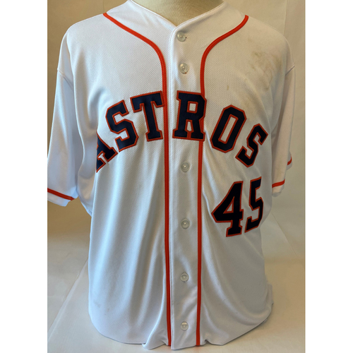 Photo of Gerrit Cole Game-Used Jersey - 2019 ALDS Game 2