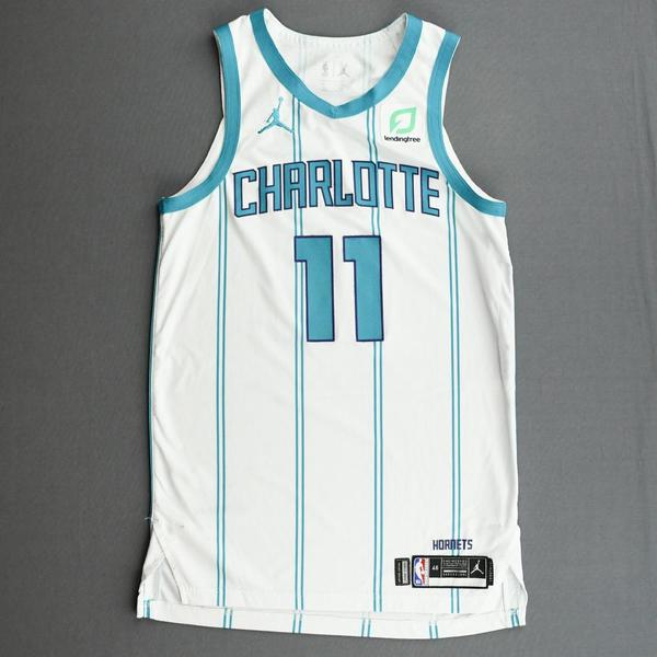 Image of Cody Martin - Charlotte Hornets - Kia NBA Tip-Off 2020 - Game-Worn Association Edition Jersey