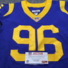 Crucial Catch - Rams Matt Longacre Game Used Jersey (10/8/17) Size 44