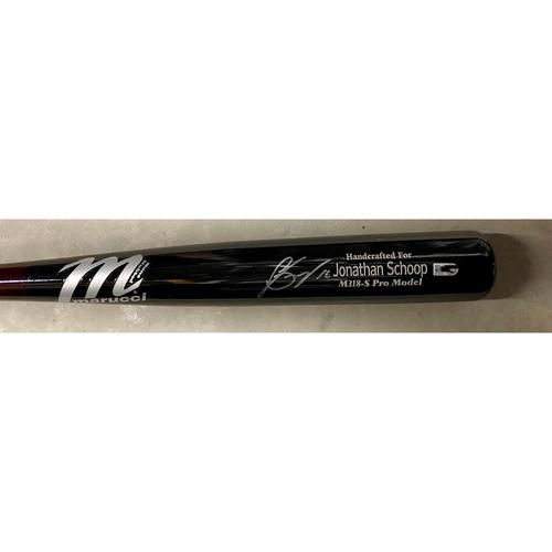 Photo of Jonathan Schoop Detroit Tigers Autographed Bat (MLB AUTHENTICATED)