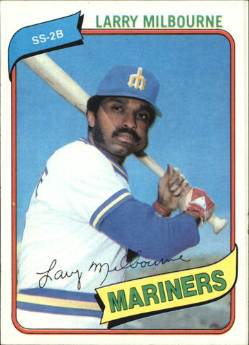Photo of 1980 Topps #422 Larry Milbourne