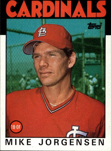 Photo of 1986 Topps #422 Mike Jorgensen