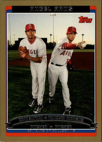 Photo of 2006 Topps Gold #660 E.Santana/F.Rodriguez