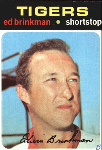 Photo of 1971 Topps #389 Ed Brinkman