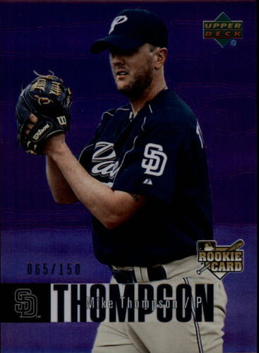 Photo of 2006 Upper Deck Special F/X Purple #945 Mike Thompson /150