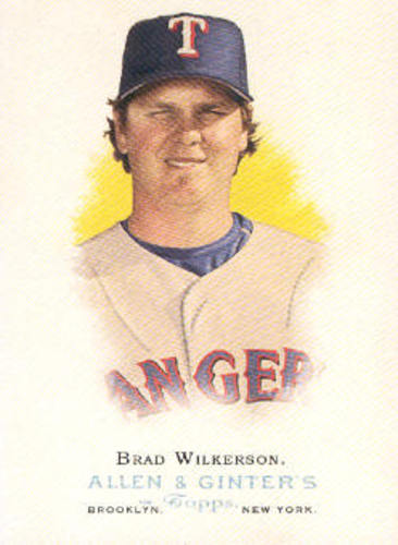 Photo of 2006 Topps Allen and Ginter #144 Brad Wilkerson