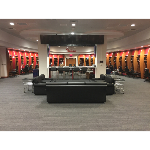 Photo of Kid's Party in the Phillies Clubhouse